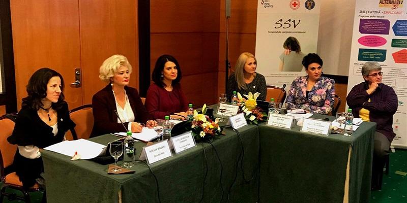 """Secretarul de stat al ANES, Grațiela Drăghici, a participat la dezbaterea cu tema """"Program integrat de intervenție multidisciplinară în violența domestică – CONNECTED BRAȘOV"""""""