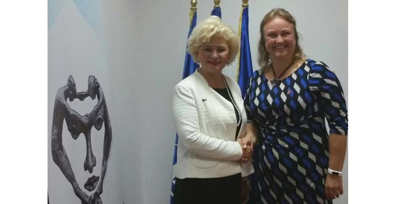 Vizita delegației Regatului Norvegiei la ANES