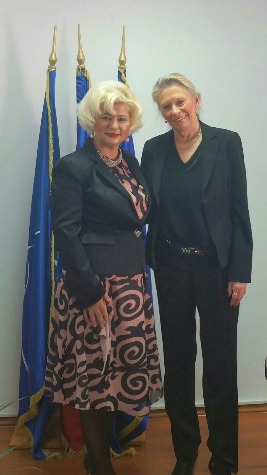 Secretarul de stat al ANES, Grațiela Drăghici, a primit astăzi vizita ambasadorului Regatului Unit al Norvegiei la București, Excelența Sa, Lise Kleven Grevstad.