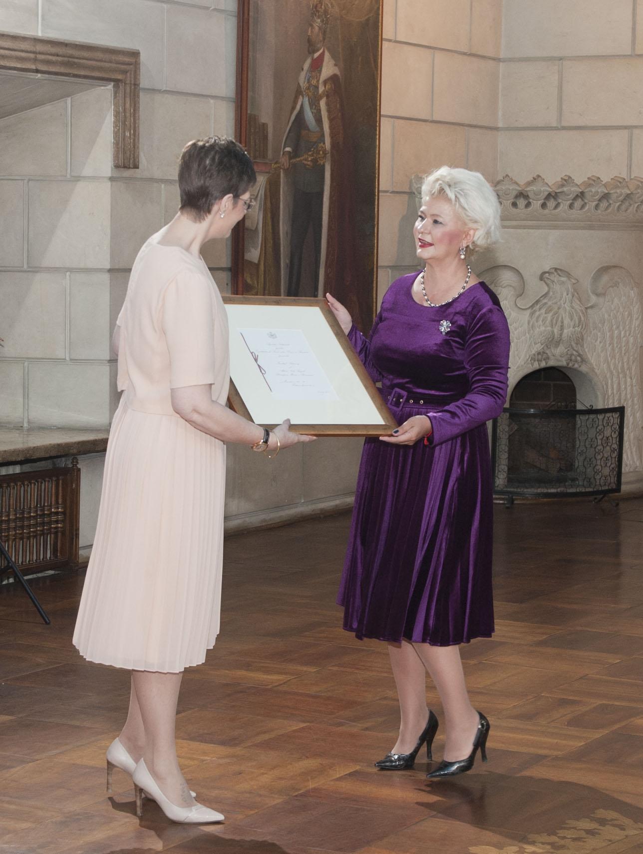 Miercuri, 9 mai 2018, la Sala Regilor a Palatului Elisabeta, Alteța Sa Regală Principesa Maria a acordat Înaltul Patronaj Agenției Naționale pentru Egalitate de Șanse între Femei și Bărbați.