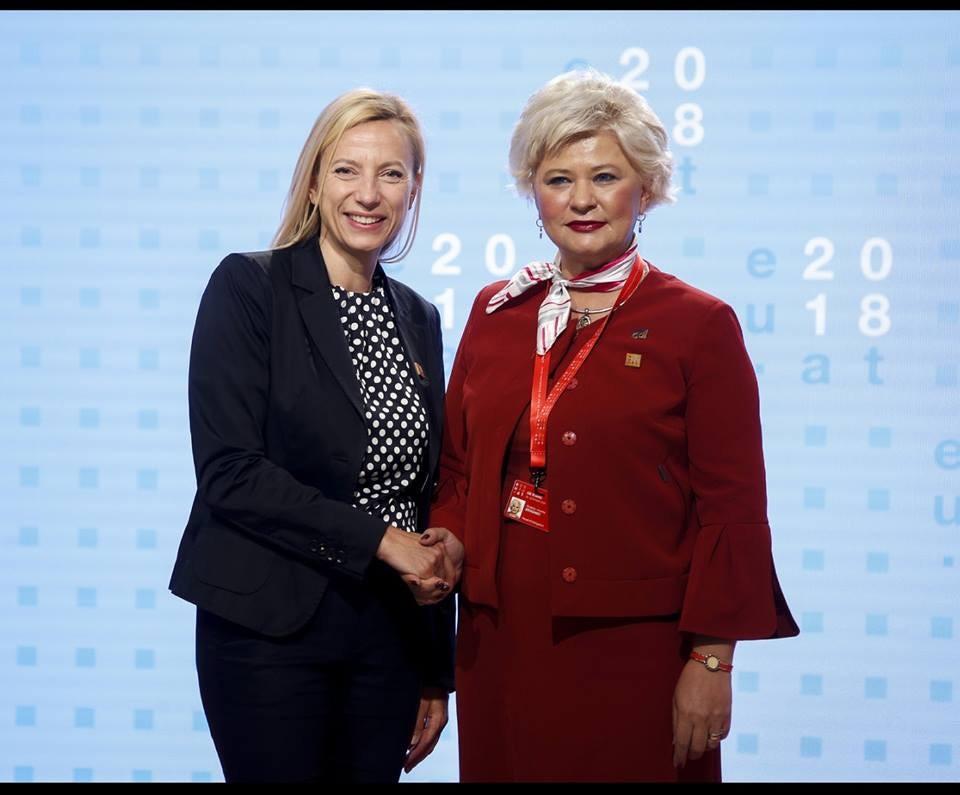 """Secretarul de stat al ANES, Grațiela Drăghici, a participat la """"Reuniunea Informală a Miniștrilor pentru Egalitatea de Șanse din UE 28, statele EFTA și din Balcanii de Vest"""""""