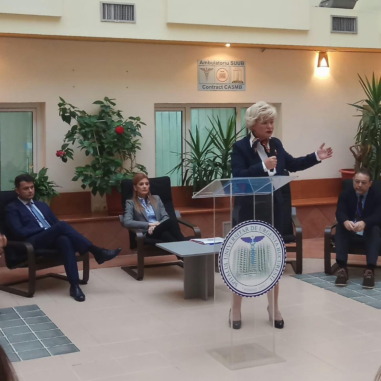 """În marja celor """"16 zile de activism împotriva violenței de gen"""" astăzi a fost inaugurat, la Spitalul Universitar de Urgență București, primul """"Centru - Pilot de Criză pentru Situațiile de Viol"""", proiect inițiat de către ANES în Parteneriat cu SUUB și Ministerul Sănătății și în colaborare cu Primăria Sectorului 5, Inspectoratul General al Poliției Române și Institutul de Medicină Legală """"Mina Minovici""""."""
