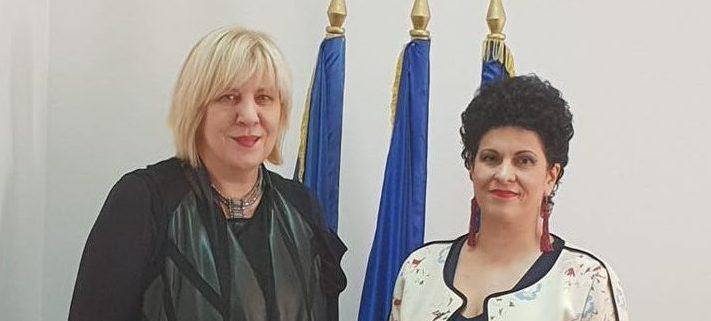 Astăzi, 14.11.2018, ANES a primit vizita doamnei Dunja Mijatovic, Comisar pentru Drepturile Omului al Consiliului Europei.