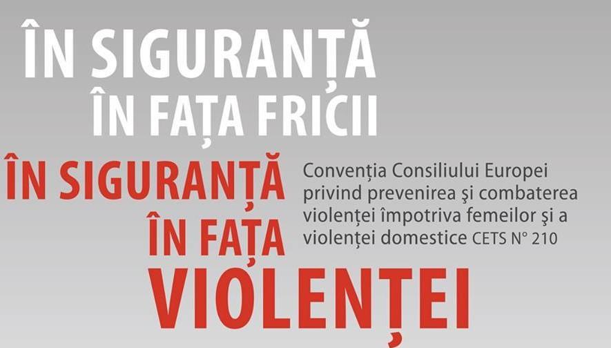 1 august 2014 - 1 august 2019 – împlinirea a 5 ani de la intrarea în vigoare a Convenției Consiliului Europei privind prevenirea și combaterea violenței împotriva femeilor și a violenței domestice