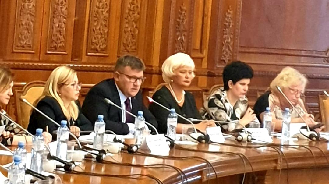 Astăzi, Secretarul de Stat al ANES, Grațiela Drăghici a participat, alături de ministrul Muncii și Justiției Sociale Marius Constantin Budăi, la dezbaterea cu tema: PREVENIREA ȘI COMBATEREA VIOLENȚEI DOMESTICE PRIN EDUCAȚIE.