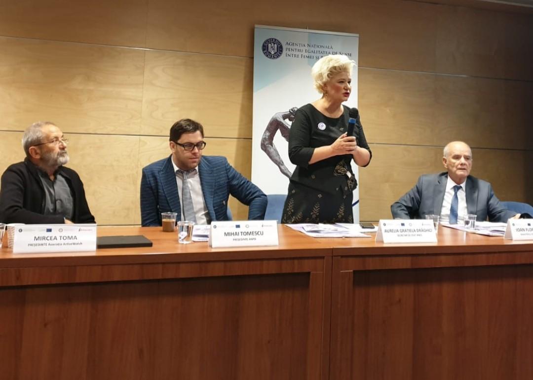 "Conferința de închidere a proiectului ""JUSTICE HAS NO GENDER"" – Cod proiect: JUST/2016/RGEN/AG/VAWA/9941"