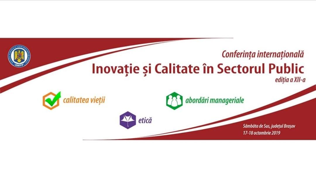 """În cadrul celei de-a XII a ediții a Conferinței Internaționale – """"INOVAȚIE SI CALITATE ÎN SECTORUL PUBLIC"""", organizată de către Agenția Națională a Funcționarilor Publici, echipei ANES i-a fost conferit astăzi """"CERTIFICAT DE BUNĂ PRACTICĂ"""" pentru Proiectul """"VENUS – Împreună pentru o viață în siguranță"""", un proiect inovativ, aflat în perioada de implementare, care vizează crearea """"Rețelei naționale integrate inovative de Locuințe Protejate pentru victimele violenței domestice""""."""