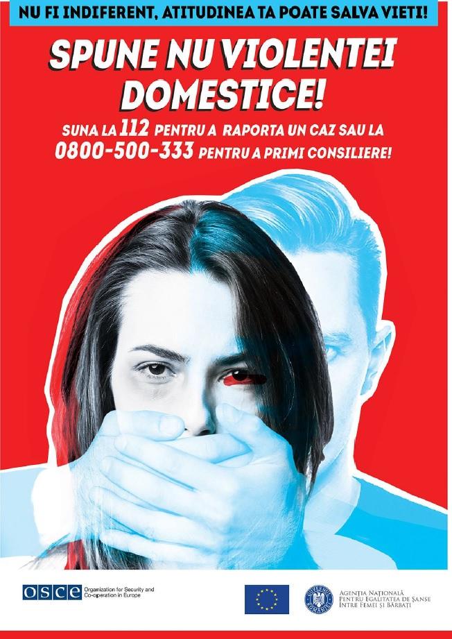 """25 Noiembrie """"Ziua Internațională pentru eliminarea violenței împotriva femeilor"""""""