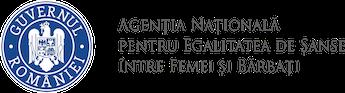 Agenția Națională pentru Egalitatea de Șanse între Femei și Bărbați Logo